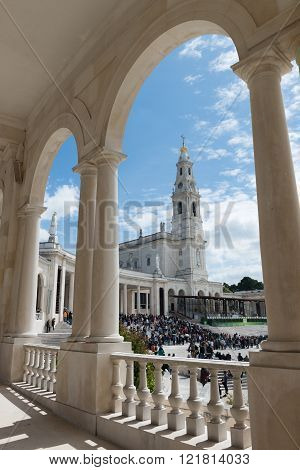 The Sanctuary Of Fatima, Portugal