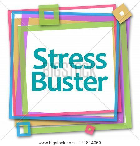 Stress Buster Colorful Frame