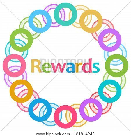 Rewards Colorful Rings Circular