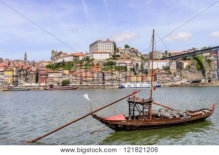Ribeira Old Town of Porto in Portugal