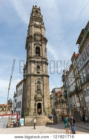 The Clerigos Tower, In Porto