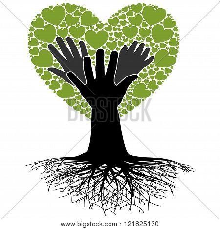 Family Tree-Hand