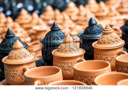 Thai Traditional Pottery