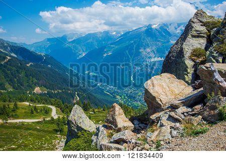 Summer Chamonix Scenery