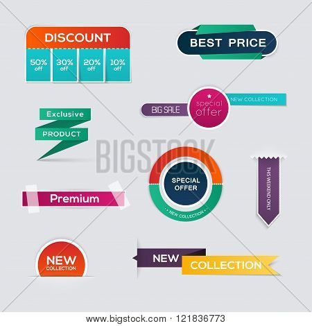 Sale Paper Banner. Sale And Discounts. Super Sale And Special Offer. Sale Shopping Background And La