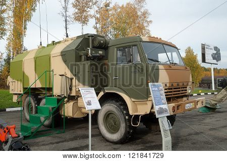 MP32M1 unified command and control vehicle
