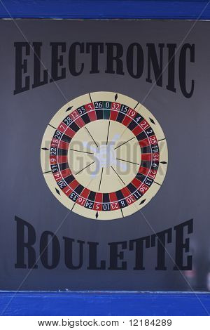 gambling casino sign