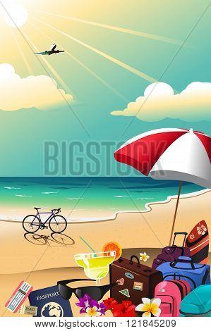 Summer Travel Poster