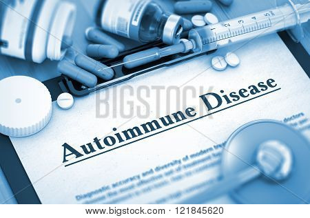 Autoimmune Disease Diagnosis. Medical Concept.