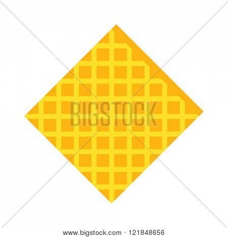 Cellulose sponges cleaning rag, color cleaning rag for housekeeping cleanness. Pink cleaning rag for cleaning and cleanliness in the house flat vector illustration isolated on white.