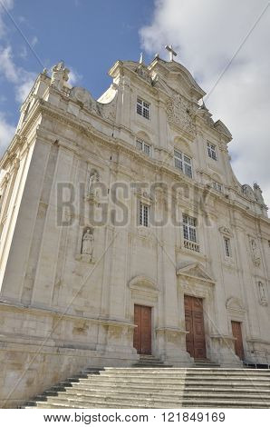 Main Facade Of The New Cathedral