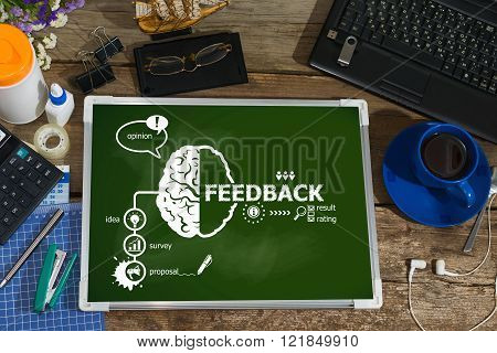 Feedback Concept For Business, Consulting, Finance