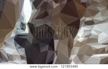 Abstract Geometrical Brown Background