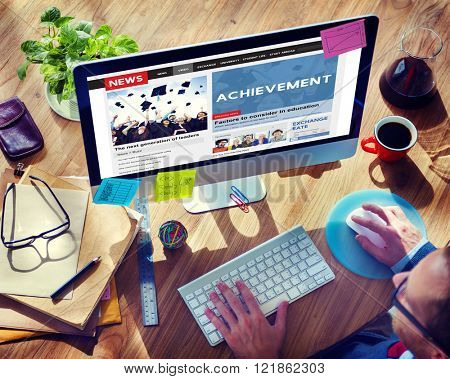 Achievement Attainment Success Victory Concept