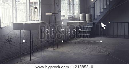 Silence Quiet Peaceful Room Interior Concept