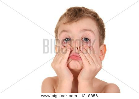 Child Making Face