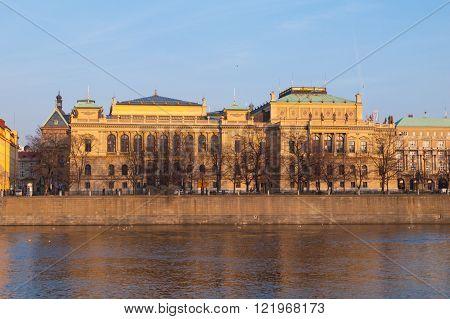 The Rudolfinum in Prague