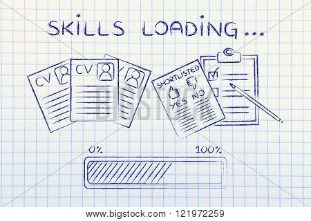Skills Loading: Cv And Shortlist Of Candidates