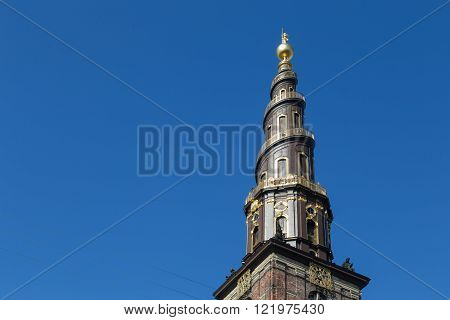 Vor Frelsers Kirke, Church of Our Saviour in Copenhagen, Denmark