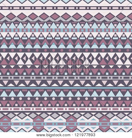 Tribal vector seamless pattern. Seamless pattern can be used for wallpaper pattern fills web page backgroundsurface textures. seamless background