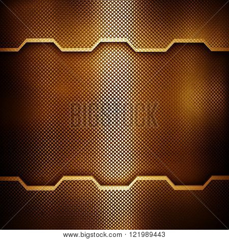 golden metal design background