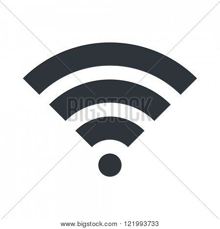 WIFI icon. Signal symbol. Vector Illustration design. EPS 10.