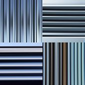 shining metal texture figure of corrugated glazed background poster
