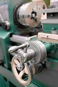 image of a lathe poster