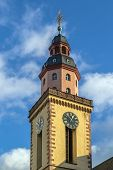 St. Catherine Church is the largest Lutheran church in Frankfurt am Main Germany poster