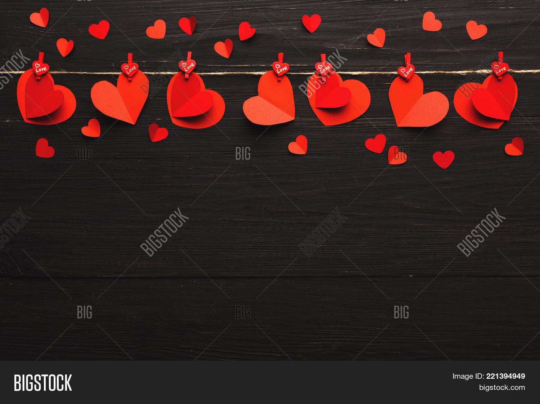 Valentine Gift Making Image Photo Free Trial Bigstock