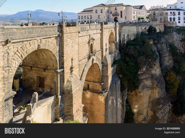 Puente Nuevo Bridge Image & Photo (Free Trial)   Bigstock