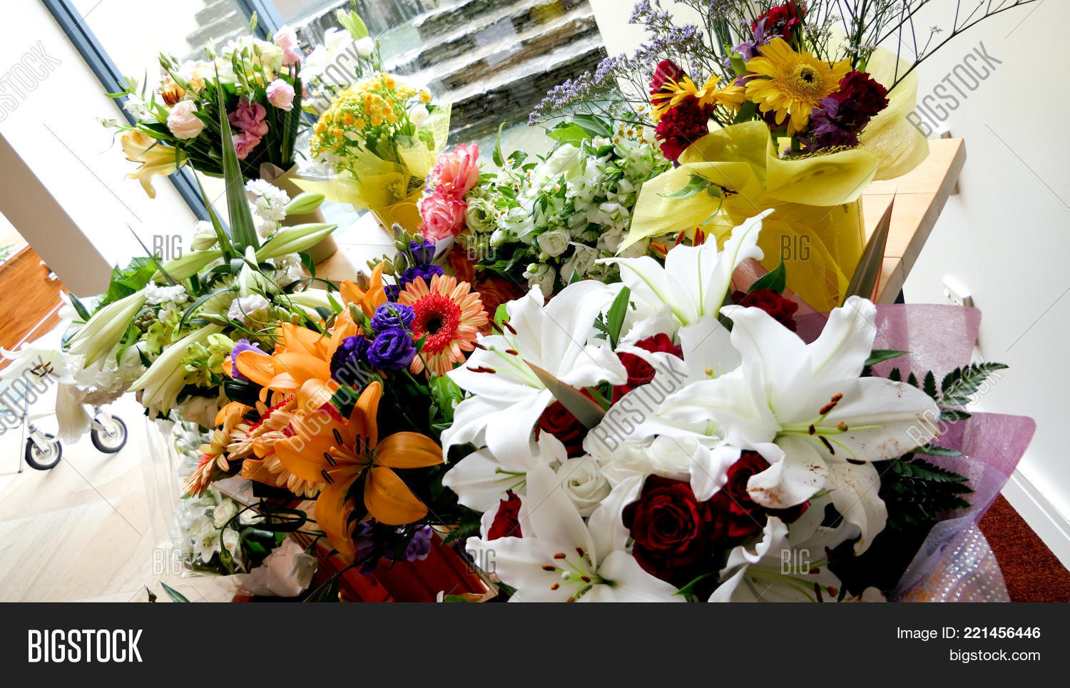 Shot Flower Candle Image Photo Free Trial Bigstock