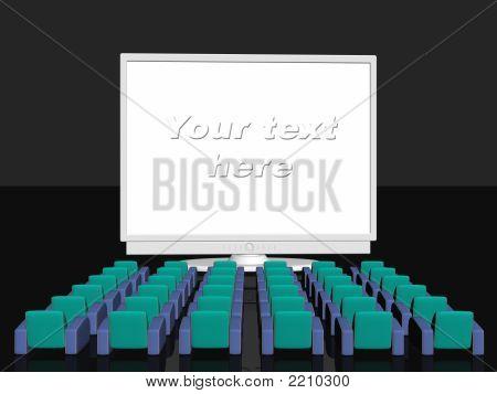 Advertising Room, Blank Screen