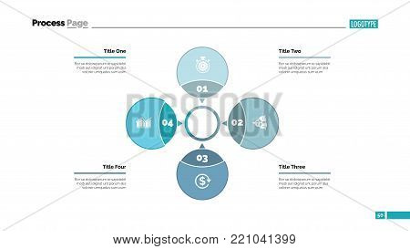 Four Petals Process Vector & Photo (Free Trial) | Bigstock