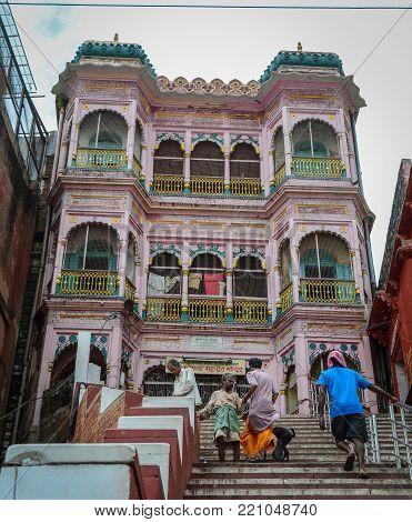 Ghats In Varanasi, India