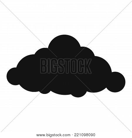 Fixed cloud icon. Simple illustration of fixed cloud vector icon for web