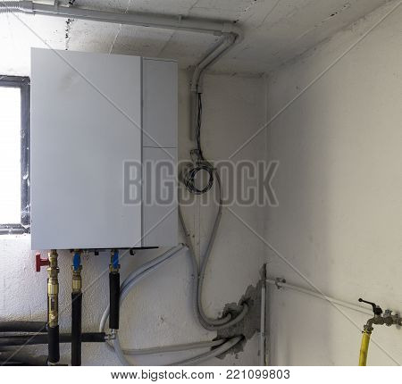 heat pump air  water for heating a residential home