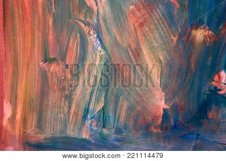 Creative background. Beautiful painting. Abstract texture. Aquarelle Painting on Paper
