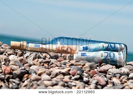 Message In A Bottle Euronotes