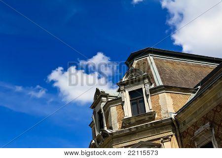 Villa Against The Sky