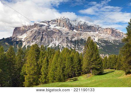 Tofana, Tofano or Le Tofane gruppe, Dolomites, Italy