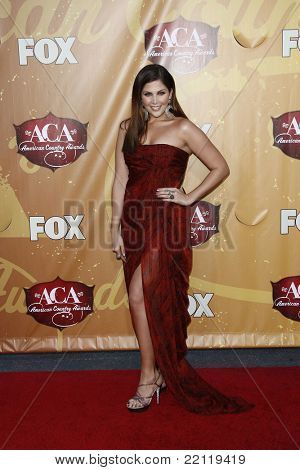 LAS VEGAS - DEC 6: Hillary Scott at the 2010 American Country Awards held at the MGM Garden Arena in Las Vegas, Nevada on December 6, 2010