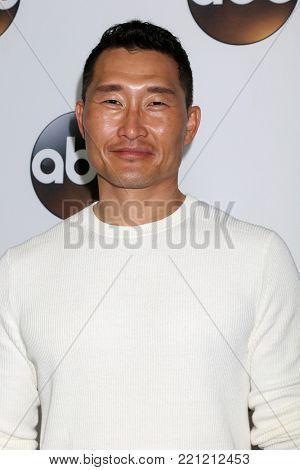 LOS ANGELES - JAN 8:  Daniel Dae Kim at the ABC TCA Winter 2018 Party at Langham Huntington Hotel on January 8, 2018 in Pasadena, CA
