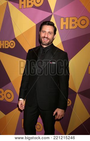 LOS ANGELES - JAN 7:  Edgar Ramirez at the HBO Post Golden Globe Party 2018 at Beverly Hilton Hotel on January 7, 2018 in Beverly Hills, CA