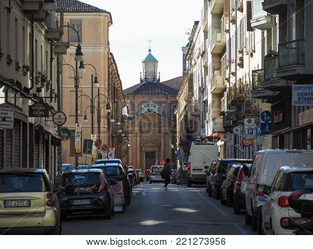 TURIN, ITALY - CIRCA JANUARY 2018: Chiesa di San Michele Arcangelo church
