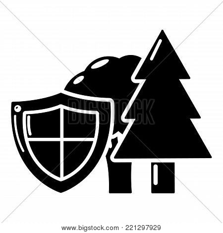 Environment protection icon. Simple illustration of environment protection vector icon for web