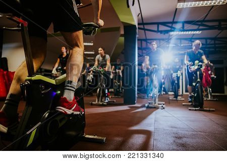 Cycling Class Indoors