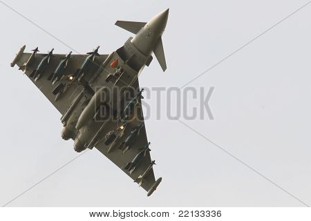 RAF Euro Fighter Typhoon