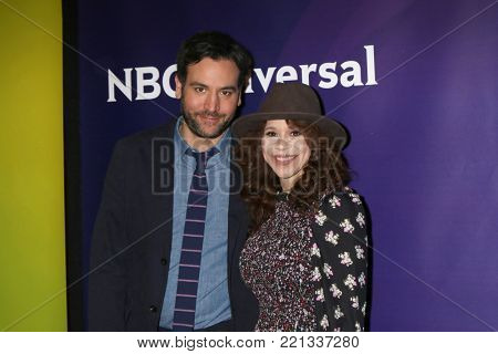 LOS ANGELES - JAN 9:  Josh Radnor, Rosie Perez at the NBC TCA Winter Press Tour at Langham Huntington Hotel on January 9, 2018 in Pasadena, CA