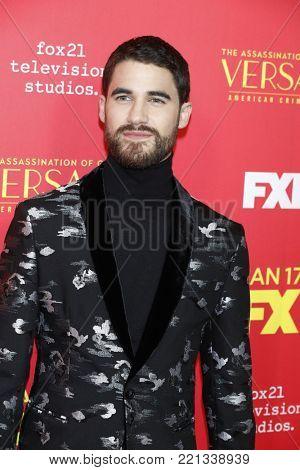 LOS ANGELES - JAN 8:  Darren Criss at the